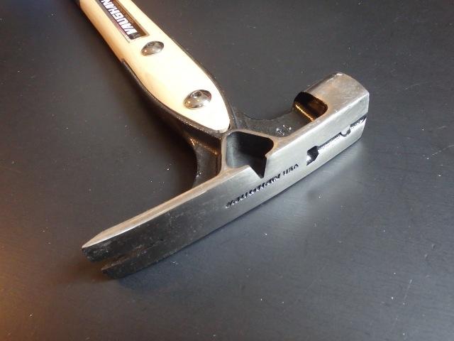 Vaughan VW18 18 oz. Douglas Pattern Framing Hammer, MILLED face,