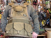 ATLAS46 JourneyMESH��� Chest Rig with Cargo Pockets v2 / COYOTE