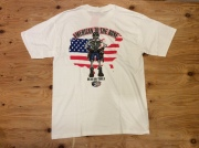 """DEAD ON TOOLS """"AMERICAN TO THE BORN"""" T SHIRT"""