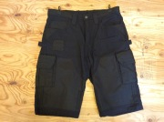 ATLAS46 CONCORD WORK SHORTS / BLACK