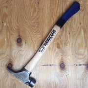 HARDCORE HAMMERS BLUNT FORCE SMOOTH FACE HAMMER / MIDNIGHT BLUE