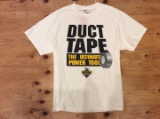 """DUCT TAPE """"THE ULTIMATE POWER TOOL"""" T-SHIRT /  L / USED"""