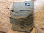 ATLAS46 SINGLE WELL UTILITY POUCH V2 / COYOTE