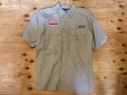 MAKITA EDDIE BAUER FISHING SHIRT / USED / SIZE XL