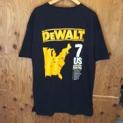 "DEWALT ""7 US MANUFACTURING FACILITIES"" TSHIRT  / SIZE XL / USED"