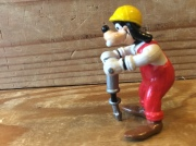 DISNEY GOOFY JACK HAMMER APPLAUSE PVC FIGURE / USED