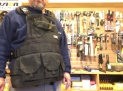 ATLAS46 JourneyMESH��� Chest Rig with Cargo Pockets v2 / BLACK