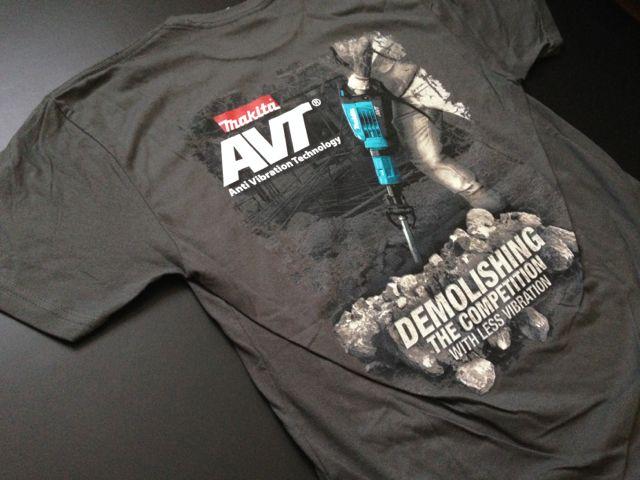Makita Demolishing The Competition AVT T-Shirt