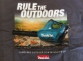 "MAKITA ""RULE THE OUTDOORS"" T SHIRT LONG SLEEVE / XL"