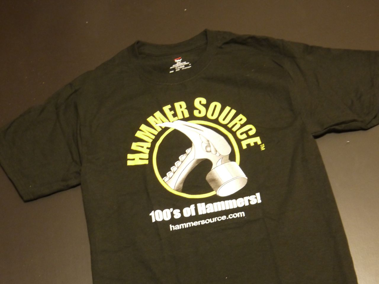 The Hammer Source 100% cotton short-sleeve T