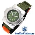 [正規品] スミス&ウェッソン Smith & Wesson ミリタリー腕時計 LAWMAN WATCH OLIVE DRAB SWW-11-OD