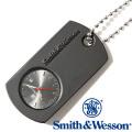 [正規品] スミス&ウェッソン Smith & Wesson ミリタリー 時計 DOG TAG WATCH BLACK SWW-1564-BK