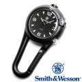 [正規品] スミス&ウェッソン Smith & Wesson ミリタリー時計 CARABINER CLASSIC WATCH BLACK SWW-36-BLK