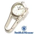 [正規品] スミス&ウェッソン Smith & Wesson スイス ミリタリー時計 CARABINER CLASSIC WATCH SILVER SWW-36-SLV