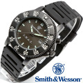 [正規品] スミス&ウェッソン Smith & Wesson ミリタリー腕時計 SWAT WATCH BLACK SWW-45