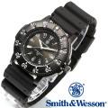 [正規品] スミス&ウェッソン Smith & Wesson スイス トリチウム ミリタリー腕時計 SWISS TRITIUM SPORT WATCH BLACK SWW-450-BLK