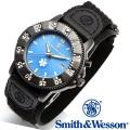 [正規品] スミス&ウェッソン Smith & Wesson ミリタリー腕時計 455 EMT WATCH BLUE/BLACK SWW-455-EMT