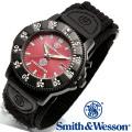 [正規品] スミス&ウェッソン Smith & Wesson ミリタリー腕時計 455 FIRE FIGHTER WATCH RED/BLACK SWW-455F
