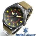 [正規品] スミス&ウェッソン Smith & Wesson ミリタリー腕時計 N.A.T.O. WATCH BLACK SWW-515-BK