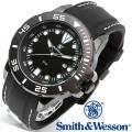 [正規品] スミス&ウェッソン Smith & Wesson ミリタリー腕時計 SCOUT WATCH WHITE/BLACK SWW-582-WH