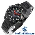[正規品] スミス&ウェッソン Smith & Wesson スイス トリチウム ミリタリー腕時計 EMISSARY WATCH BLACK SWISS TRITIUM SWW-88-B