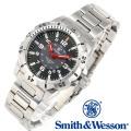 [正規品] スミス&ウェッソン Smith & Wesson スイス トリチウム ミリタリー腕時計 EMISSARY WATCH SILVER SWISS TRITIUM SWW-88-S