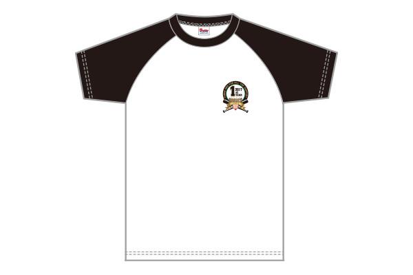 ラグランTシャツ_黒