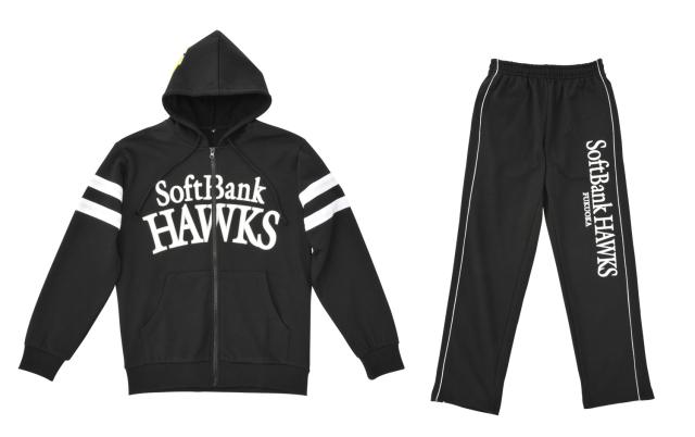スウェットセットアップ福岡ソフトバンクホークスモデル2014(ブラック)