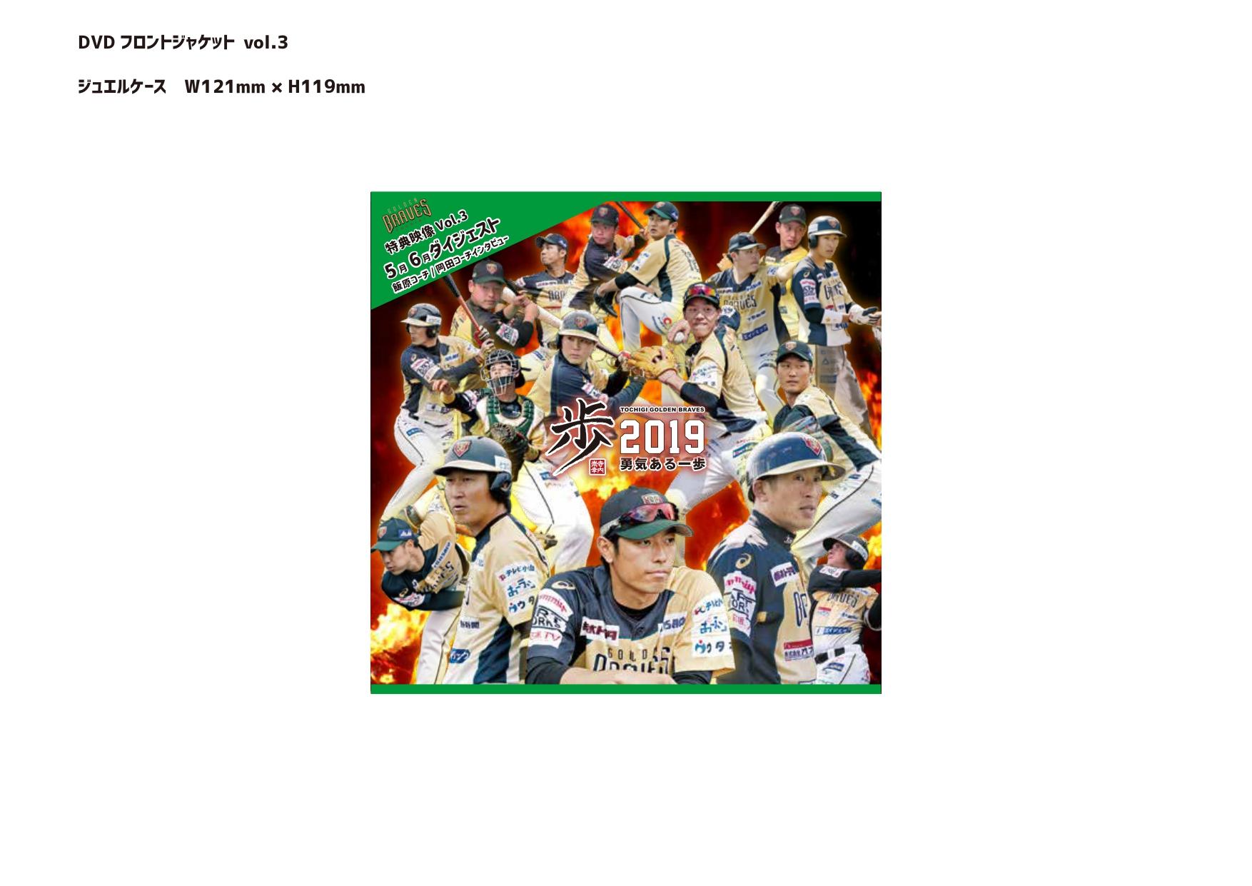 栃木ゴールデンブレーブス DVD.3