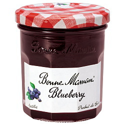 ボンヌママン ブルーベリージャム 225g×6個