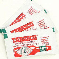 タバスコ ペッパーソース ポーションパック 3ml×1000個