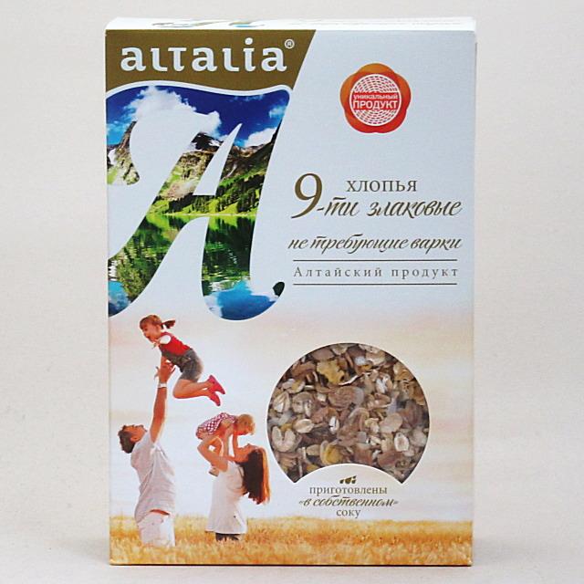 アルタリア 9種の穀物シリアル 400g×9個