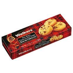 ウォーカー #182 チョコチップ ショートブレッド 175g×12個