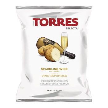 トーレス ポテトチップス スパークリングワイン風味 50g×20個