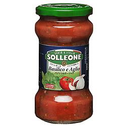 ソルレオーネ トマトソース バジリコ&ガーリック 300g×12個