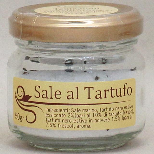 テンタツィオーニ トリュフ塩 50g×6個