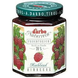 ダルボ ダブルフルーツ ラズベリージャム(種なし) 200g×12個