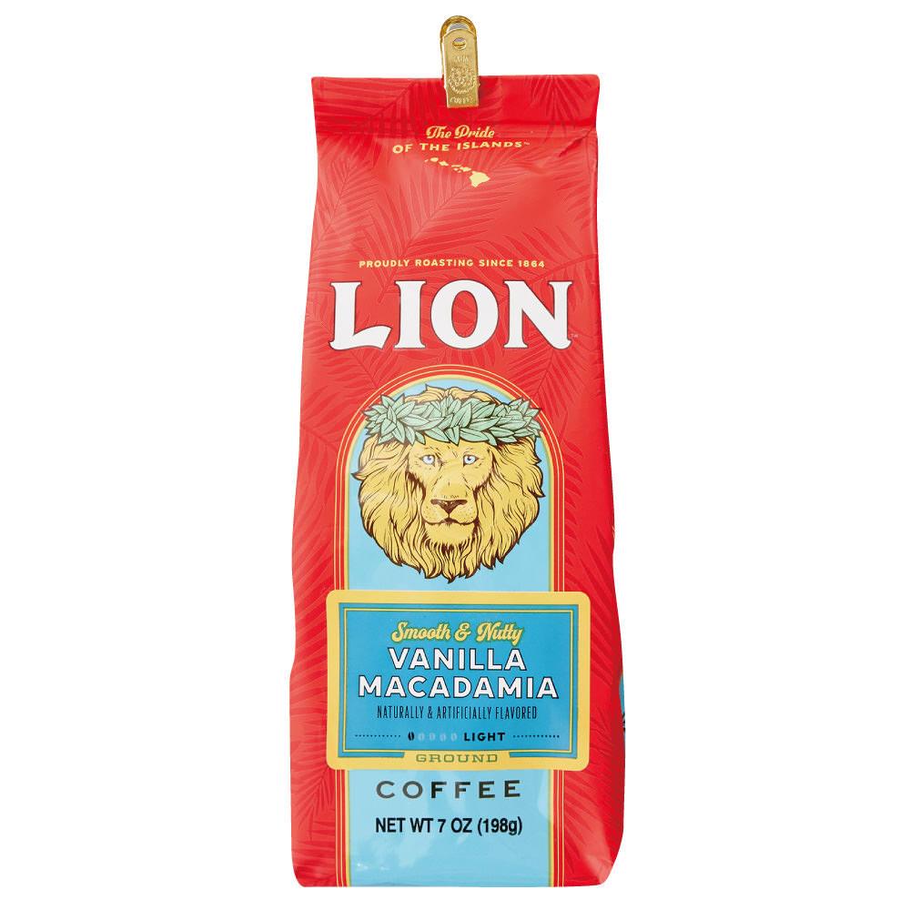 ライオンコーヒー バニラマカダミア 198g×15個