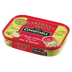 コネタブル オリーブオイルサーディン レモン風味 115g×15個
