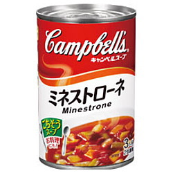 キャンベル ミネストローネ 日本語ラベル 305g×12個