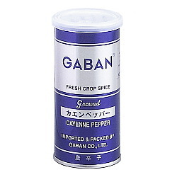 ギャバン カエンペッパー パウダー 缶 80g×6個
