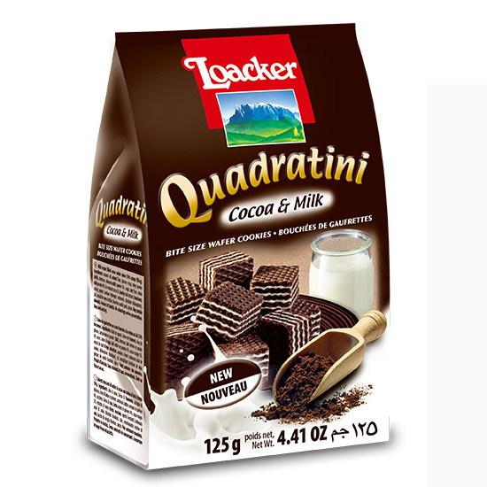 ローカー クワドラティーニ ココア&ミルク 125g×12個