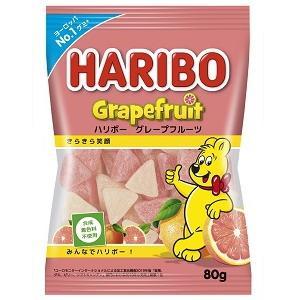 ハリボー グレープフルーツ 80g×8個