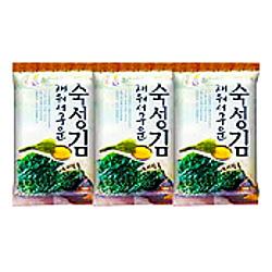 徳山物産 韓国味付け海苔 9切9枚 3P×24個