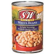S&W ホワイトビーンズ 425g×12個