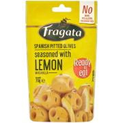 フラガタ グリーンオリーブ レモン 70g×16個