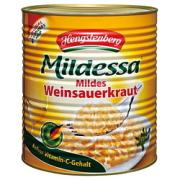 ヘングステンベルグ ザワークラウト(缶) 10200ml×2個