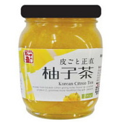 キムチの壷 皮ごと正直柚子茶 290g×12個