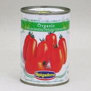 スピガドーロ 有機ホールトマト 400g×24個