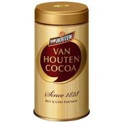 バンホーテン ゴールドラベル ピュアココア 缶 200g×6個